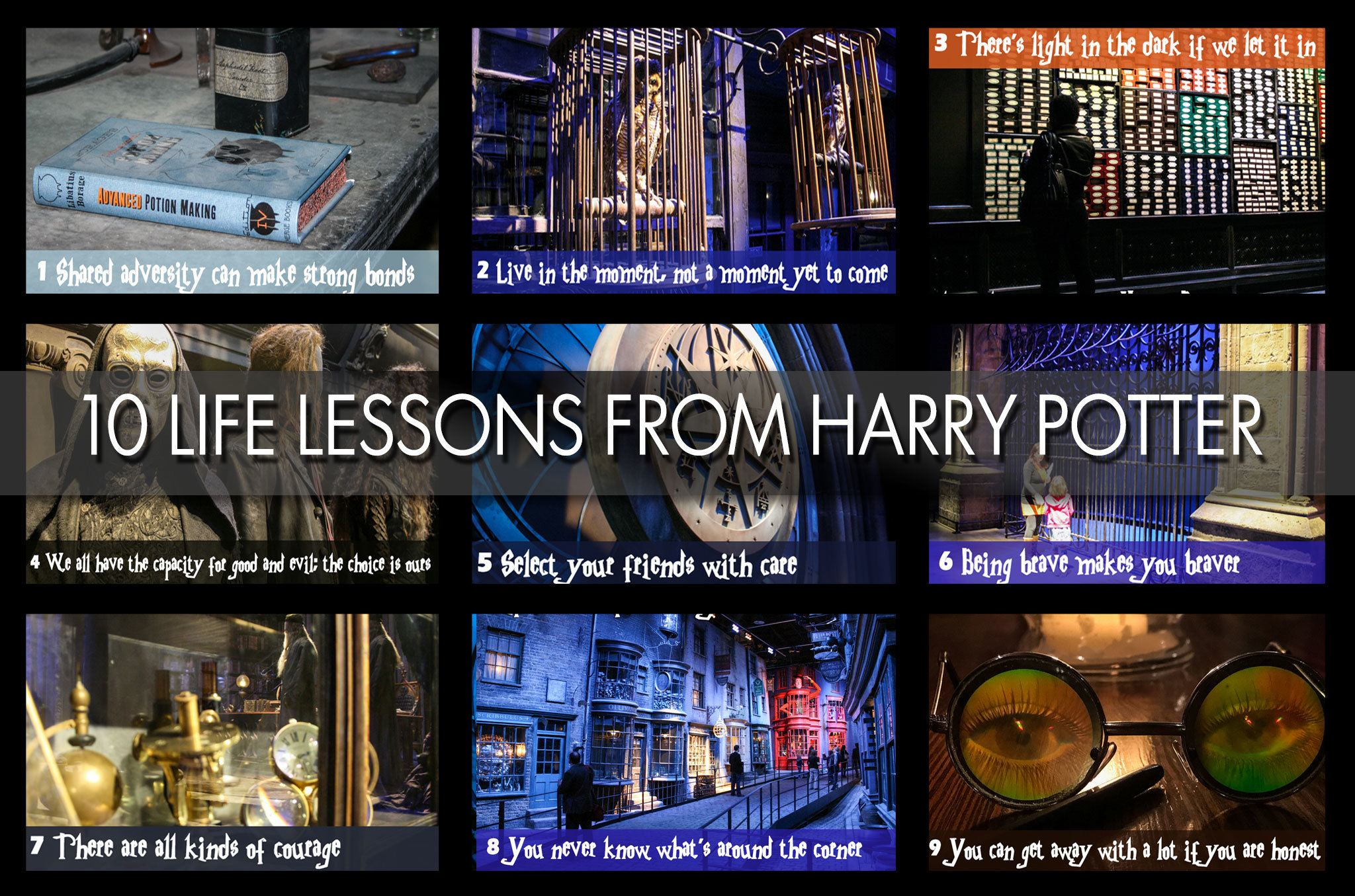 10 Life Lessons from Harry Potter Quotes