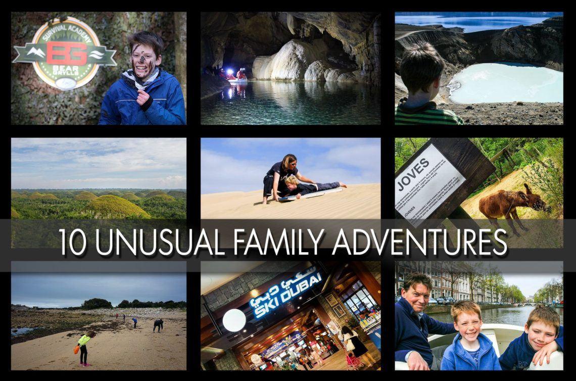 10 Unusual Active Family Adventures