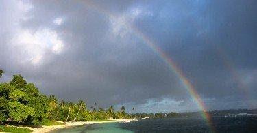 Rainbow Samoa Beach
