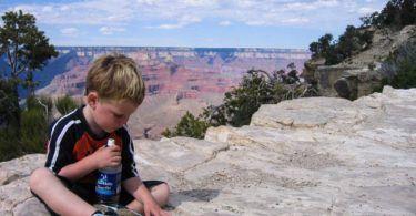 Child at Grand Canyon