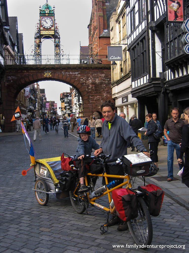 Cycling LEJOG through Chester