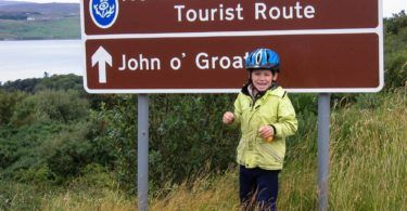 John O Groats Sign on North Coast