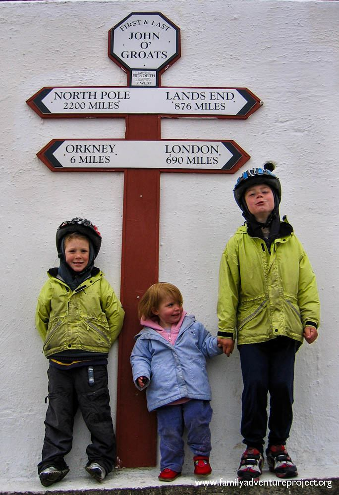 Kids complete Lands End to John O Groats Cycle Ride