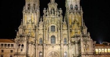 Cathedral at Santiago de Compostela
