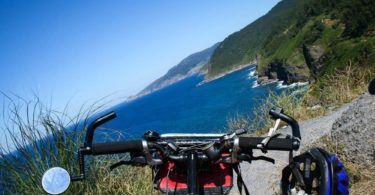 Bike on North Coast of Spain