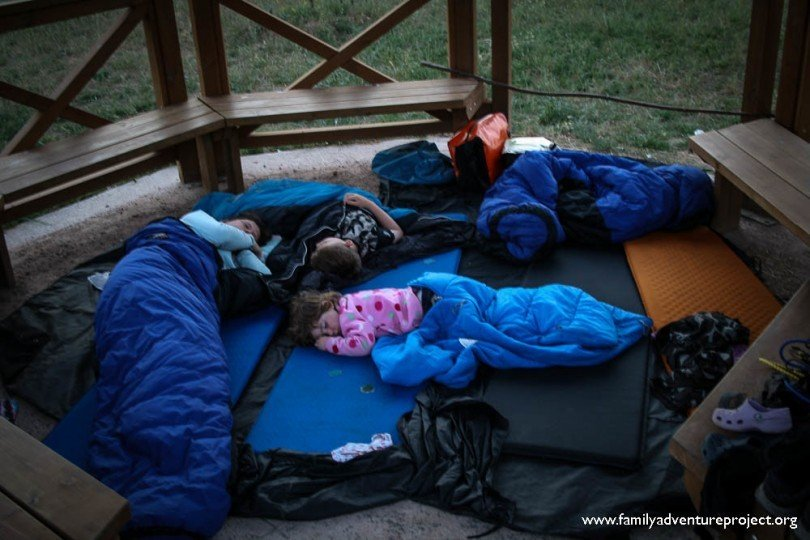 Sleeping on Camino de Santiago