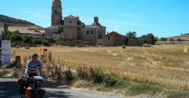 Cycling out of Castrojeriz