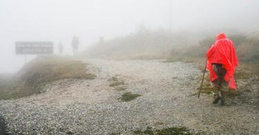 Ponchos in the Mist Heights of O Cereibro Camino de Santiago