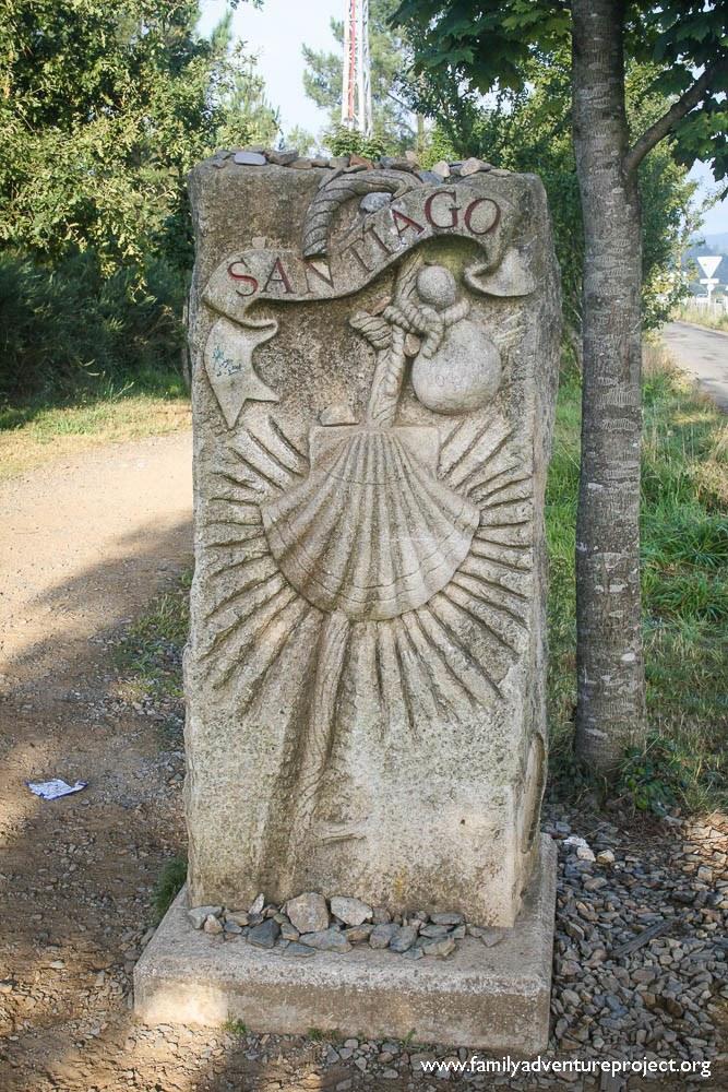 Milestone Santiago Camino