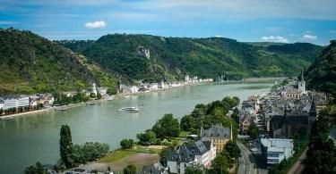 Rhine St Goar