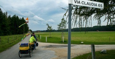 Cycling the Via Claudia Augusta