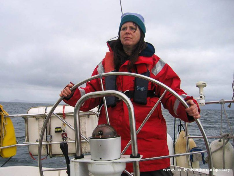 Kirstie takes the helm