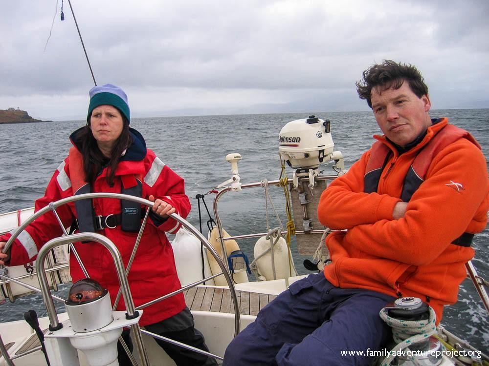 Sailing an uneasy partnership