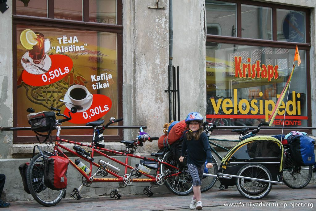 Touring on a triplet in Baltics