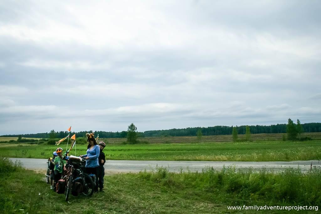 Cycling in Kurzeme, Latvia