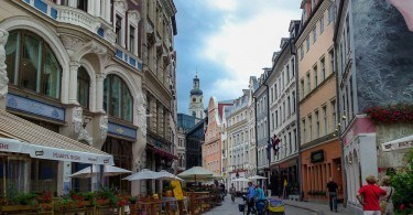 Cycling in Riga, Latvia
