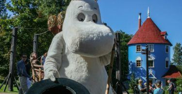 Moominpapa at The Lighthouse in MoominWorld