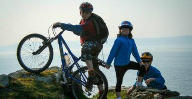 Cycling on Arran Scotland