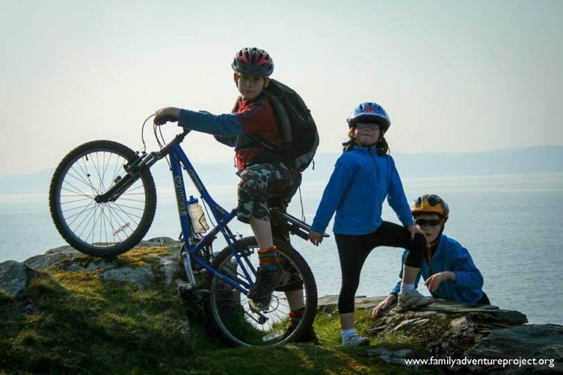 Cycling on Arran Scotland