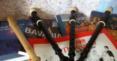 Music tour of Europe Recorders