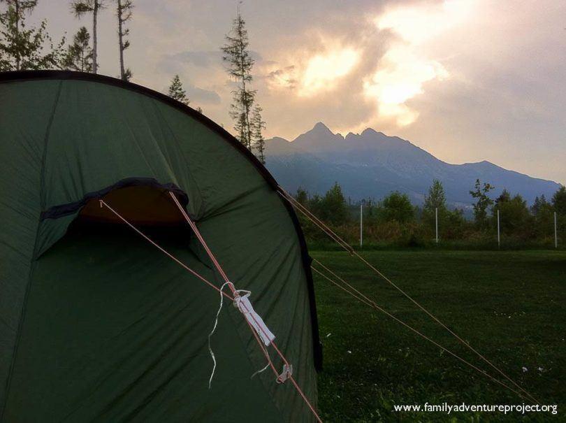 Camping in High Tatras