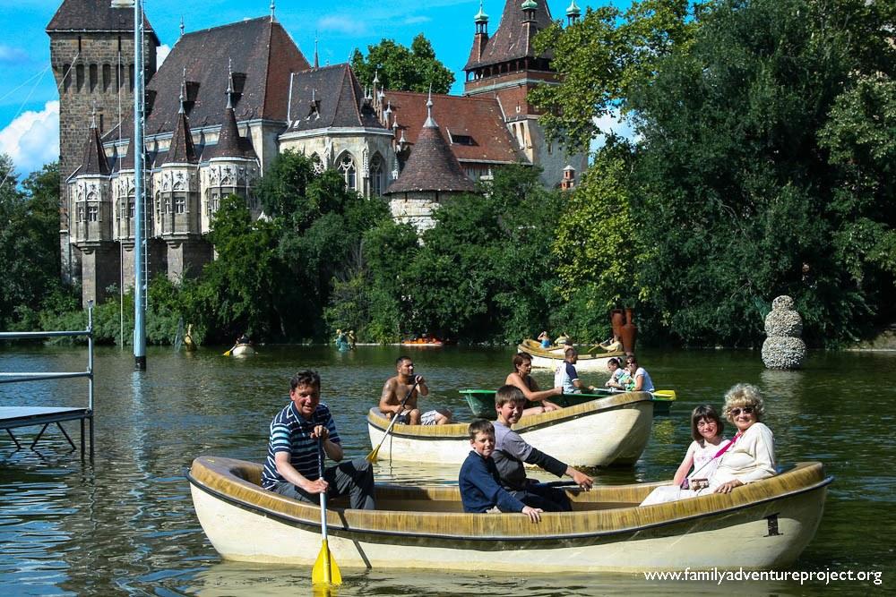 Boating Pond Budapest