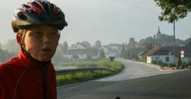 Cycling in Poland on the road to Dembica