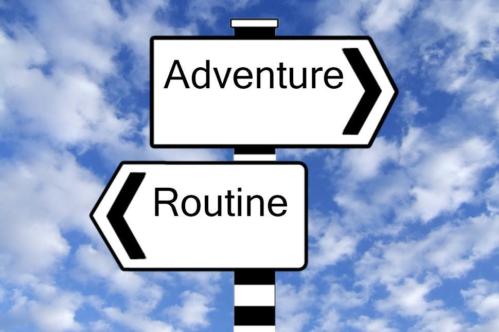 Adventure Routine Sign