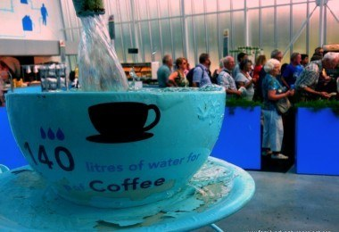 Coffee and Water, Aqua Pavilion, Floriade 2012, Venlo