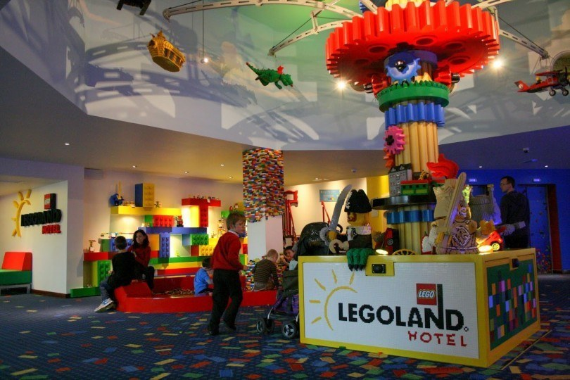 Legoland Windsor Hotel The Building Bricks For A Family