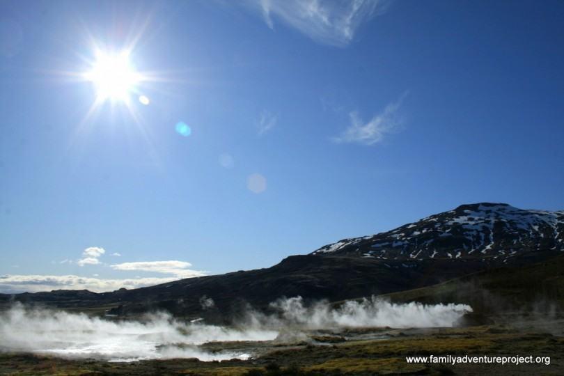 Iceland Geysir Geothermal Area