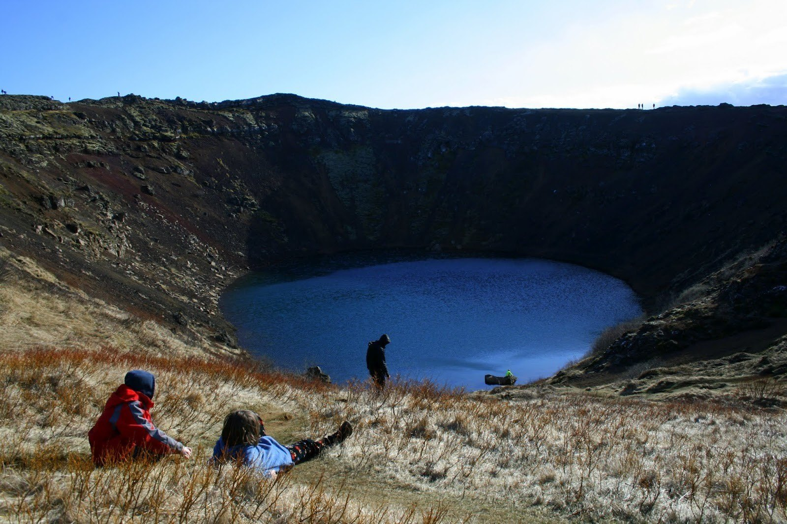 The Kerid crater, Iceland