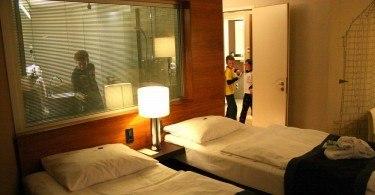 In the Room, Water Tower, Movenpick Hotel, Hamburg