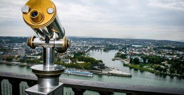 Koblenz confluence of Rhine and Mosel