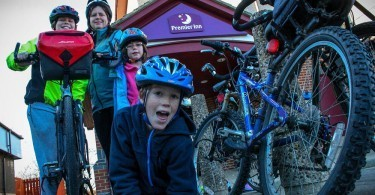 Cyclists welcome at Premier Inn