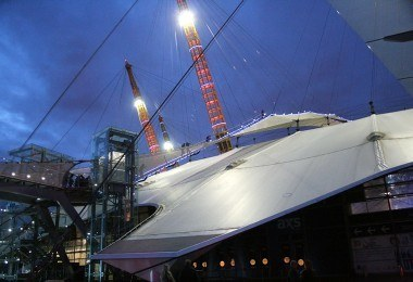 Up at The O2 The Dome