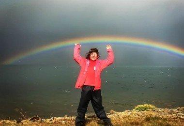 Holding up a Rainbow