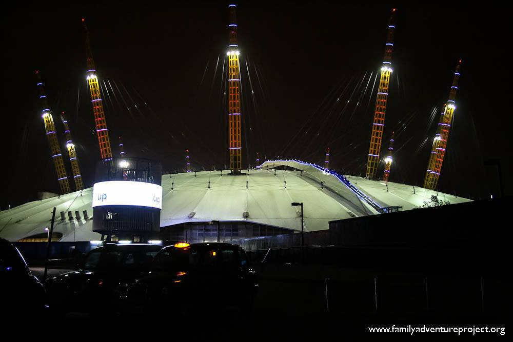 Up at The 02