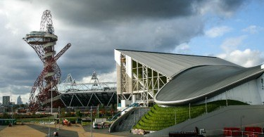 London Olympic Stadium and Orbit