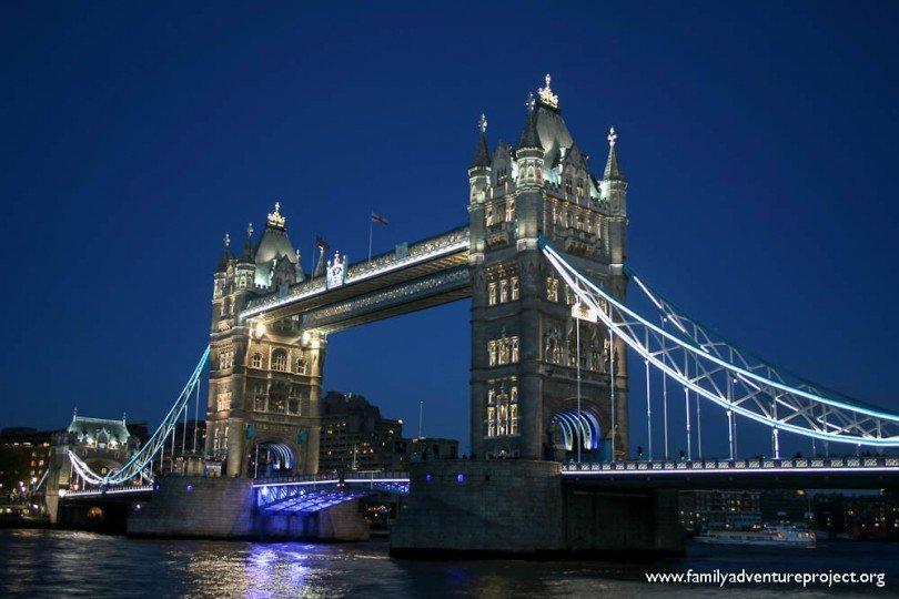 Tower Bridge at Night London