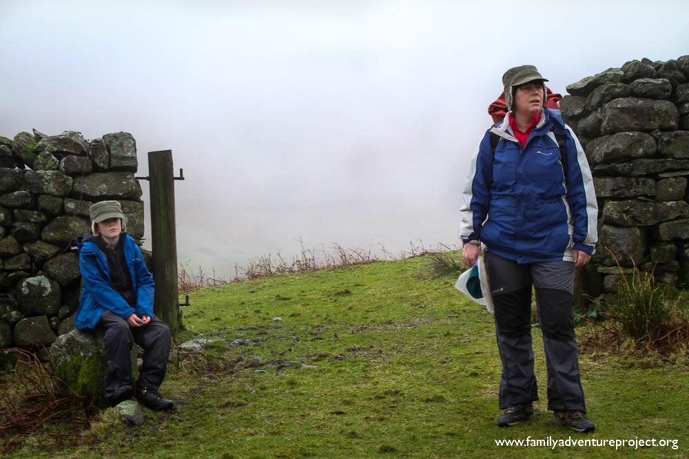 Wild Place Cumbria near Greenburn Dale