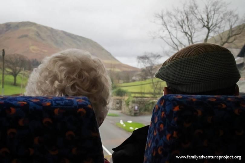 555 bus in Cumbria