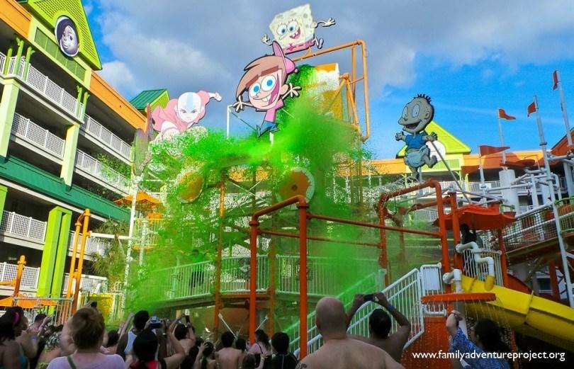 Slime Time Nick Hotel