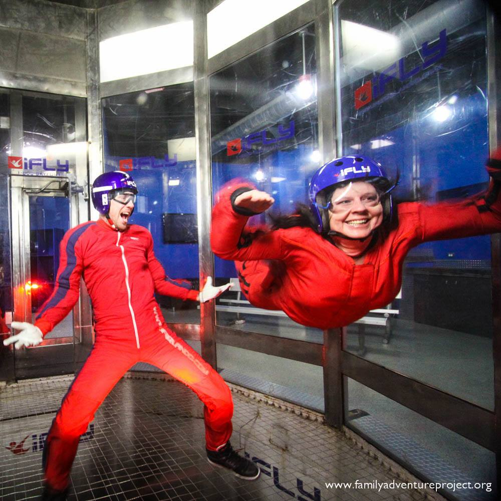 I Really Can Fly Indoor Skydiving At Ifly Orlando