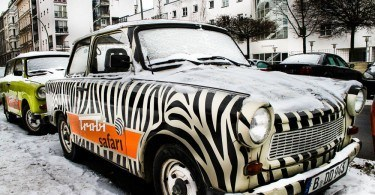 Zebra Striped Trabant