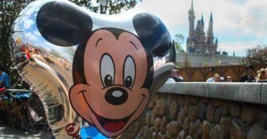 Mickey Mouse Balloon Disneyland Orlando
