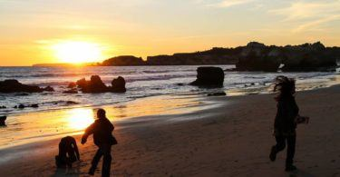 Algarve Beach at Sunset