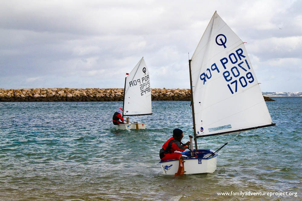 Dinghy Sailing Lagos Algarve