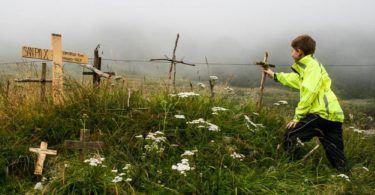 Planting a cross