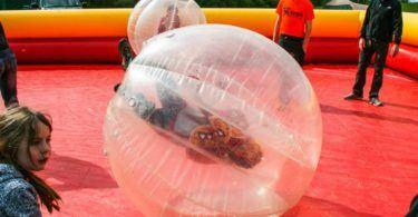 Zorb Balling at Keswick Mountain Festival